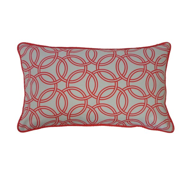 Best Shop 12 X 20 Inch Coral Crusade Throw Pillow Free This Month