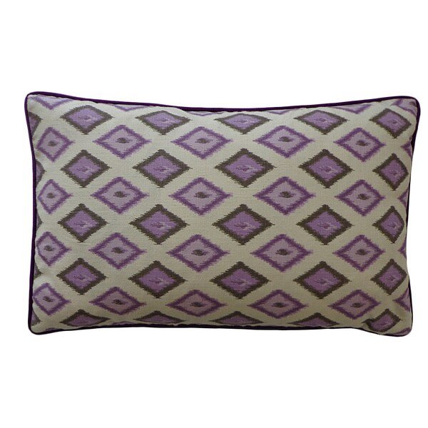 Best Shop 12 X 20 Inch Kite Purple Decorative Throw Pillow This Month
