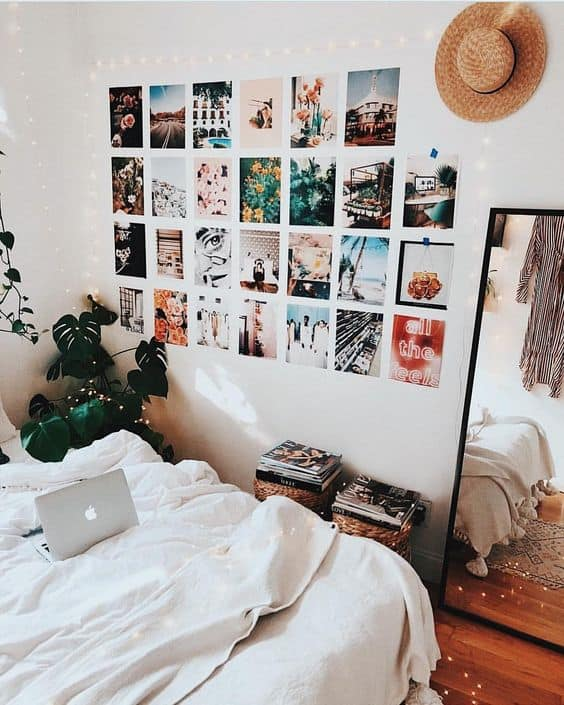 Best 8 Cute Gallery Wall Ideas To Copy For Your College Dorm This Month