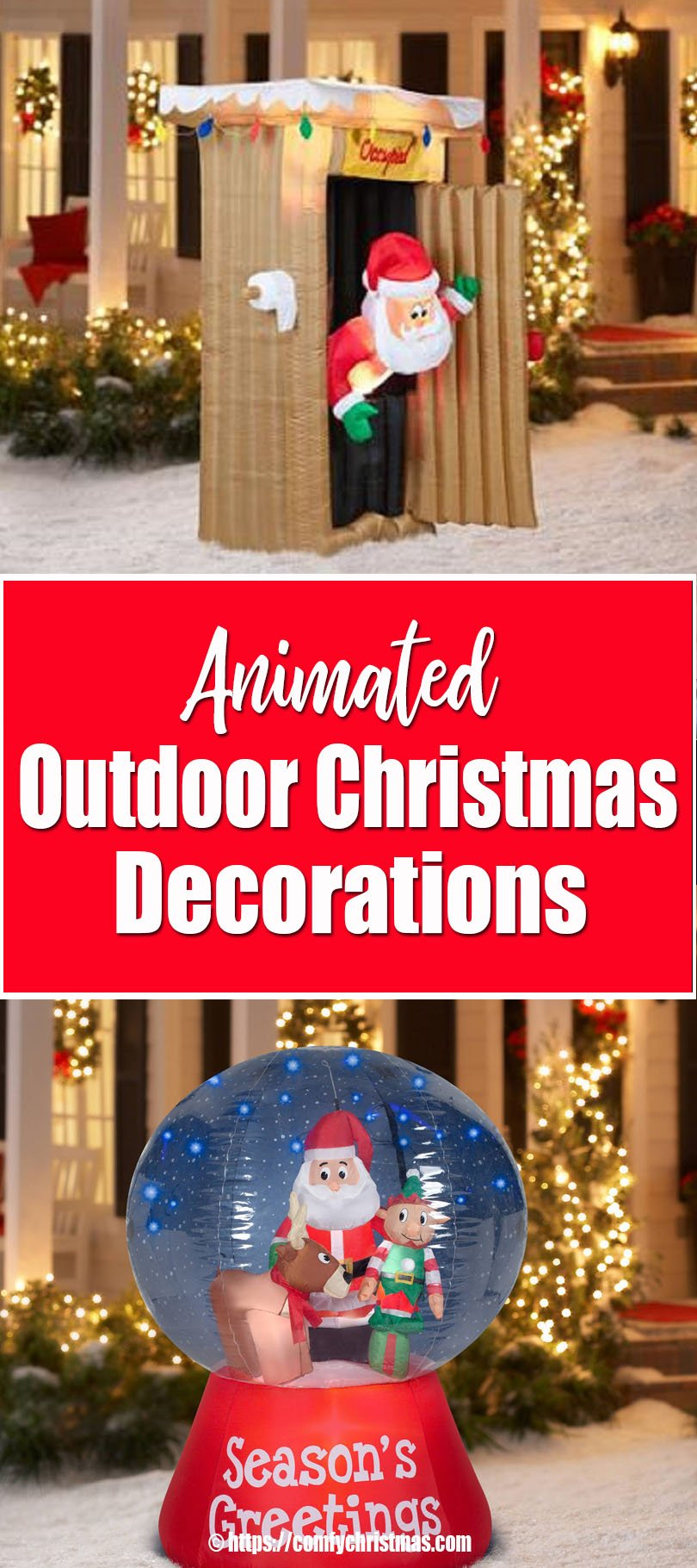Best Animated Outdoor Christmas Decorations • Comfy Christmas This Month
