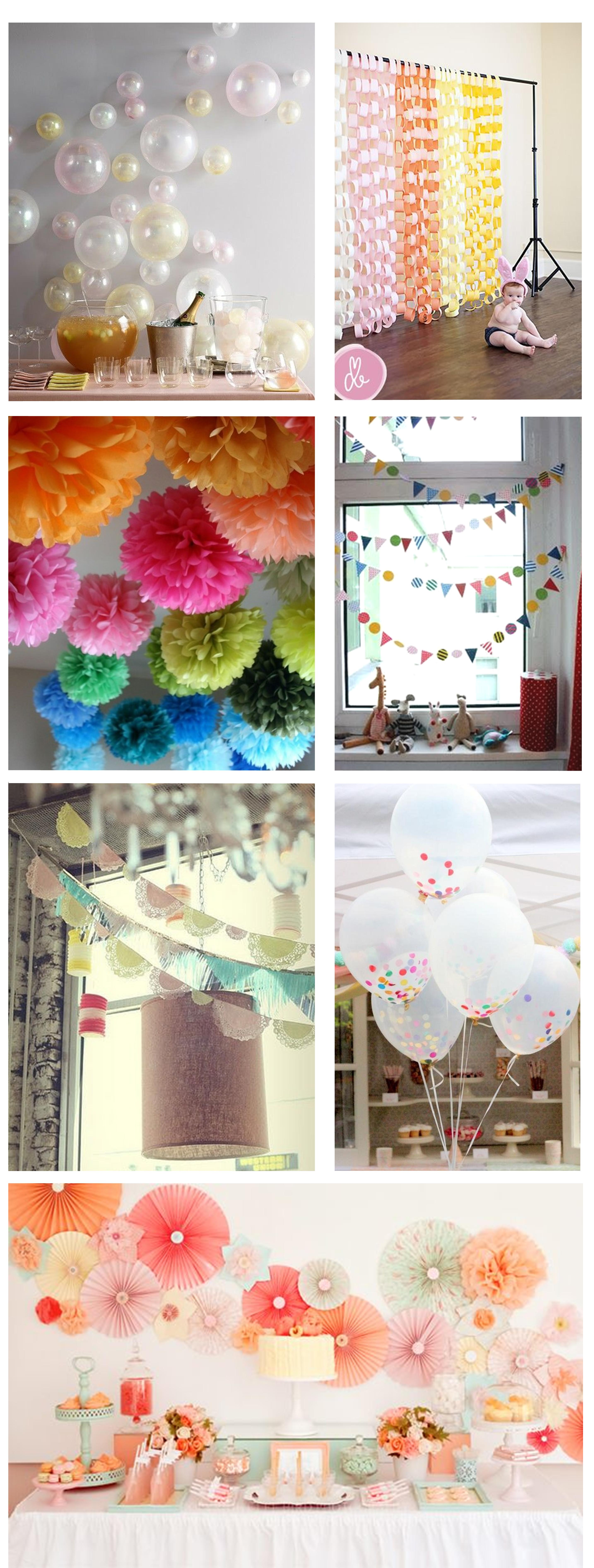 Best Ideas For Home Made Party Decorations My Thrifty Life By This Month