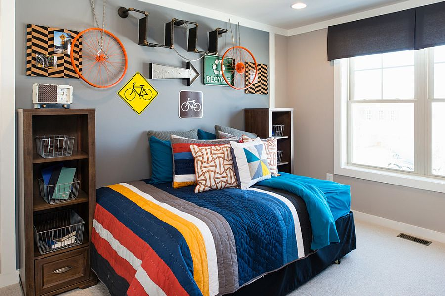 Best 30 Trendy Ways To Add Color To The Contemporary Kids' Bedroom This Month