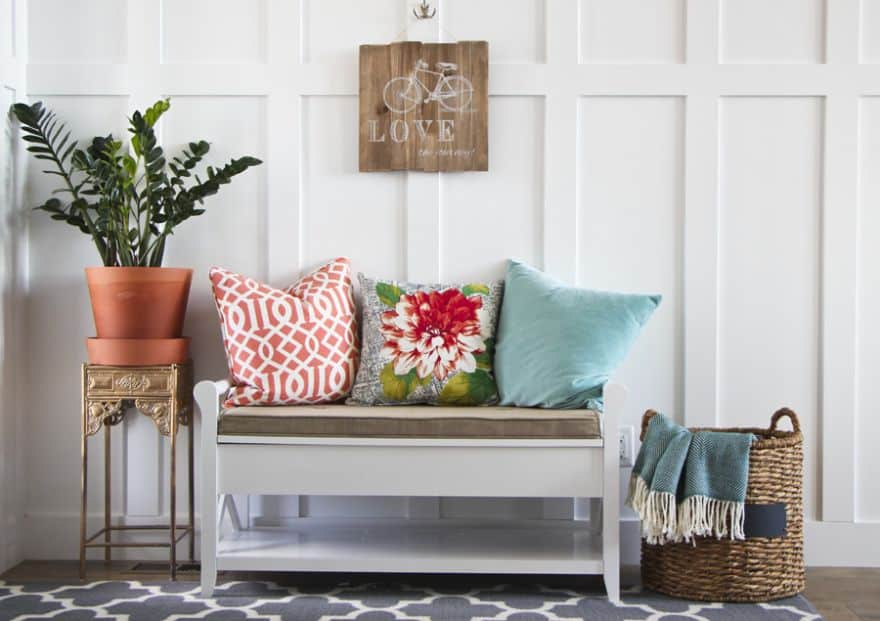 Best Entryway Bench Ideas For A Stylish And Organized Home This Month