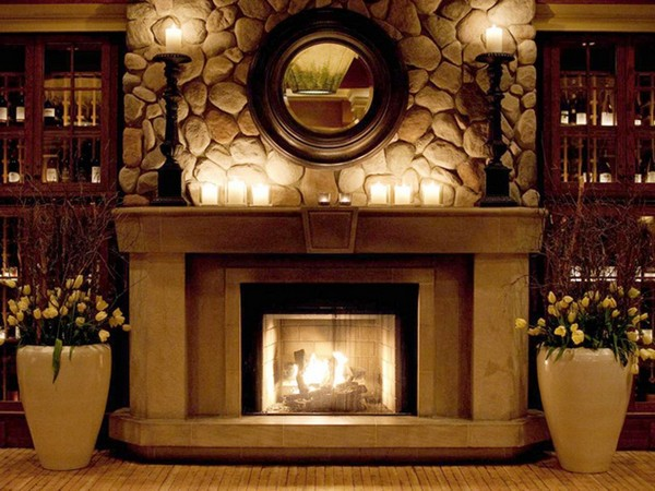 Best Fireplace Mantel Ideas How To Cozy Up Your Home Decor This Month