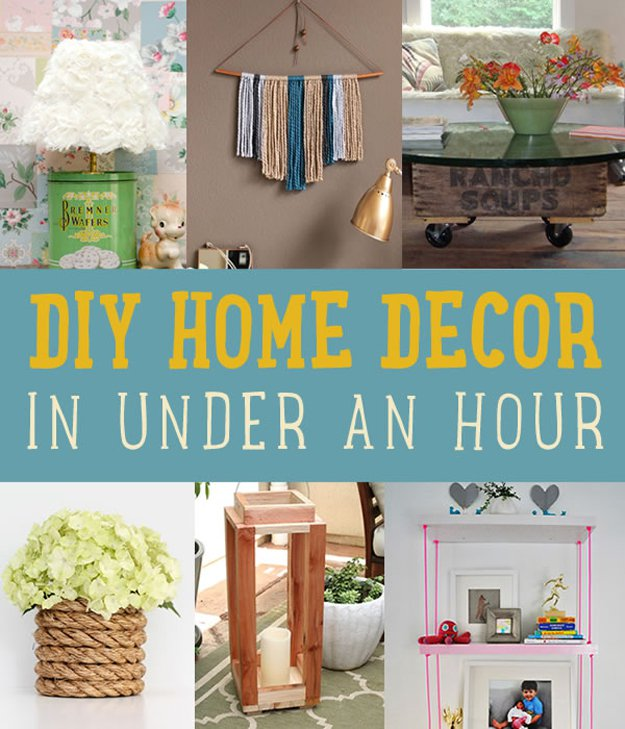 Best Quick Home Decor Project Ideas Diy Projects Craft Ideas This Month