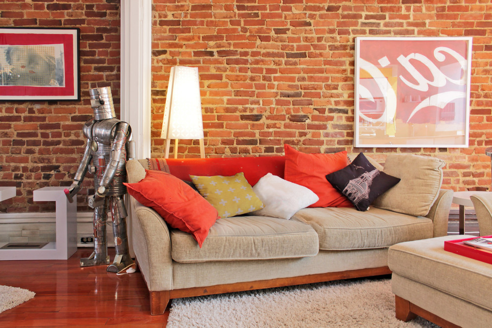 Best Unique Living Room Decor With Brick Wall 6016 House This Month