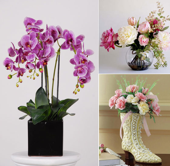 Best Beautiful Artificial Silk Flowers Arrangements For Home This Month