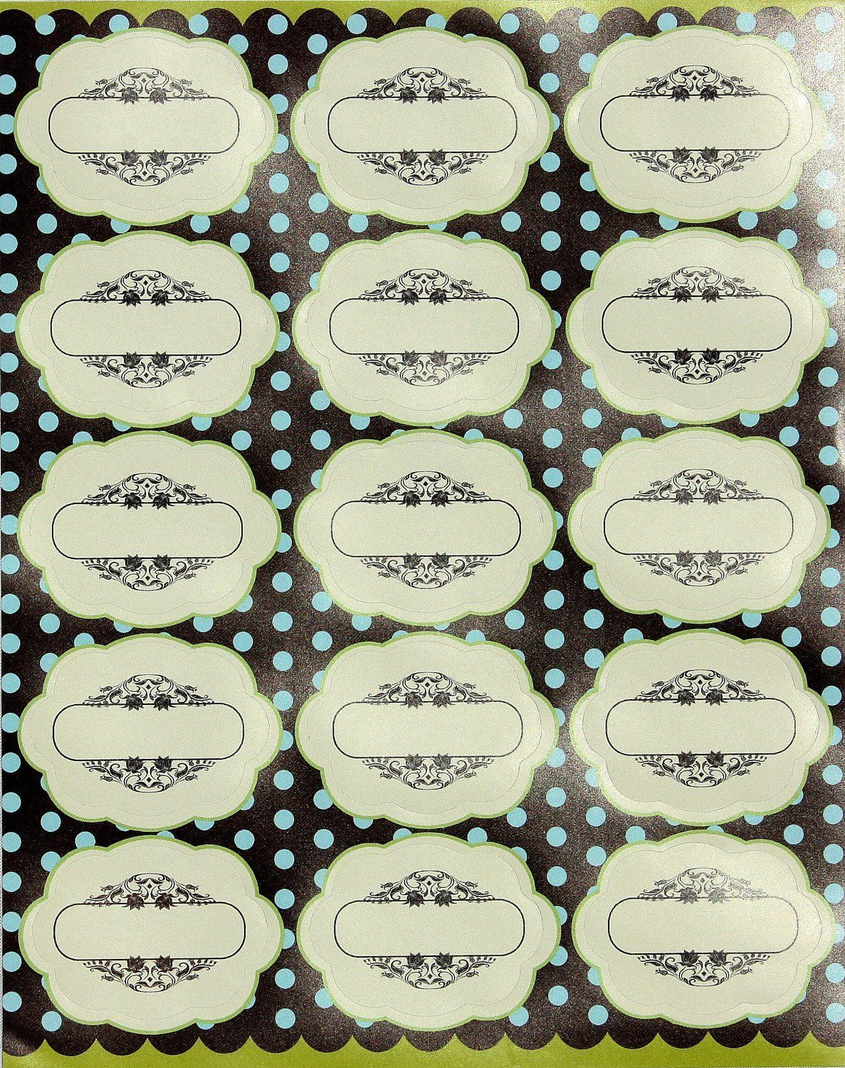 Best Decorative Labels For Jars Bottles Easy To Stick This Month