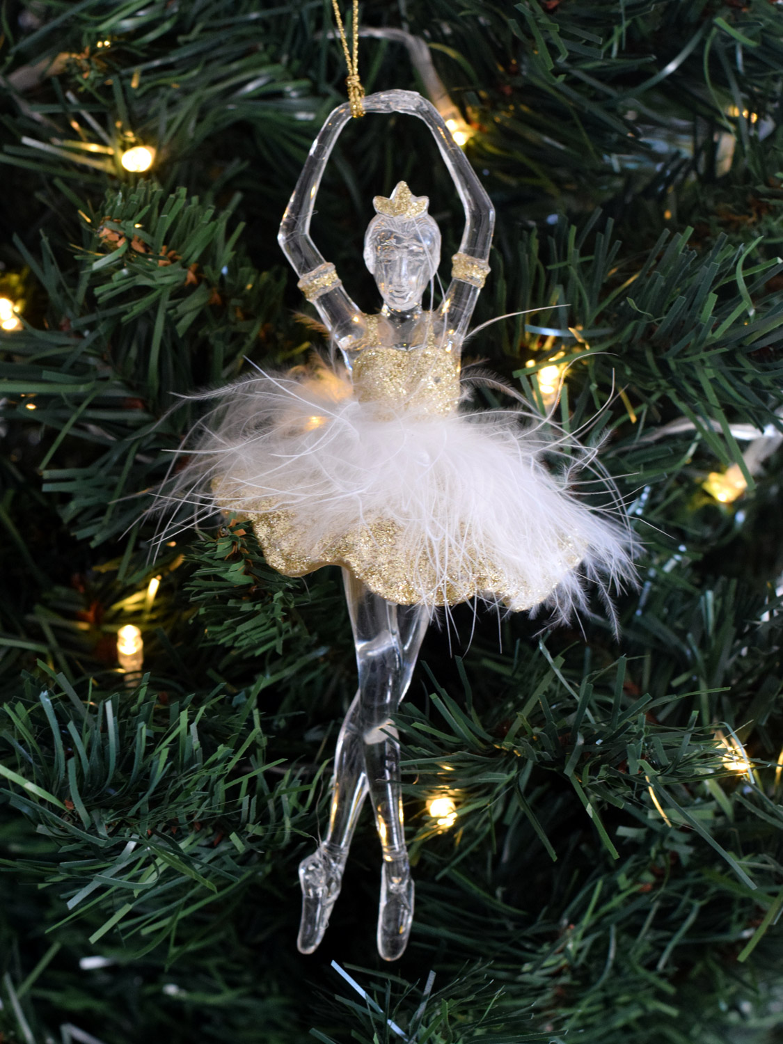 Best Gisela Graham Ballerina Fairy Christmas Tree Decoration This Month