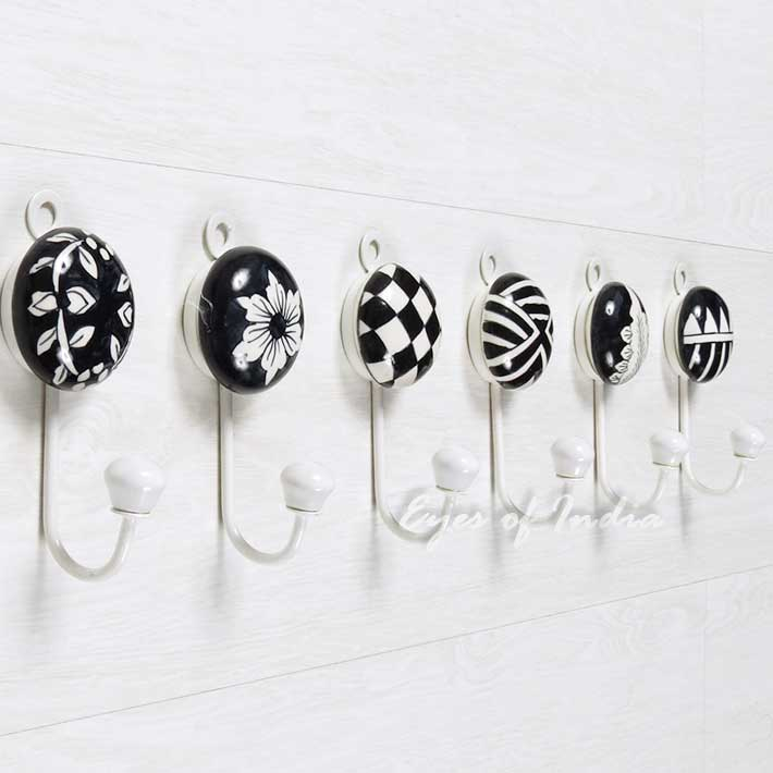 Best Ceramic Wall Hooks Colorful Decorative Hooks Decorative This Month
