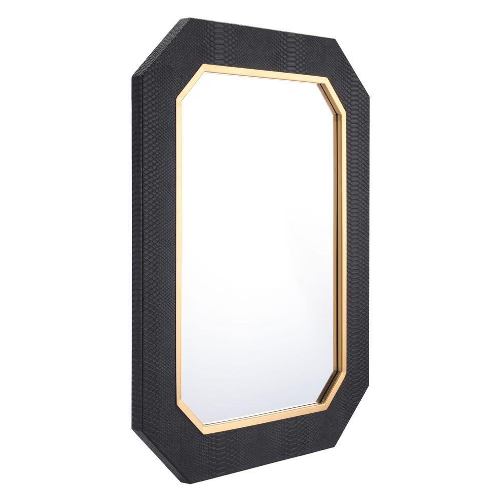 Best Zuo Asti Black Decorative Mirror A11145 The Home Depot This Month