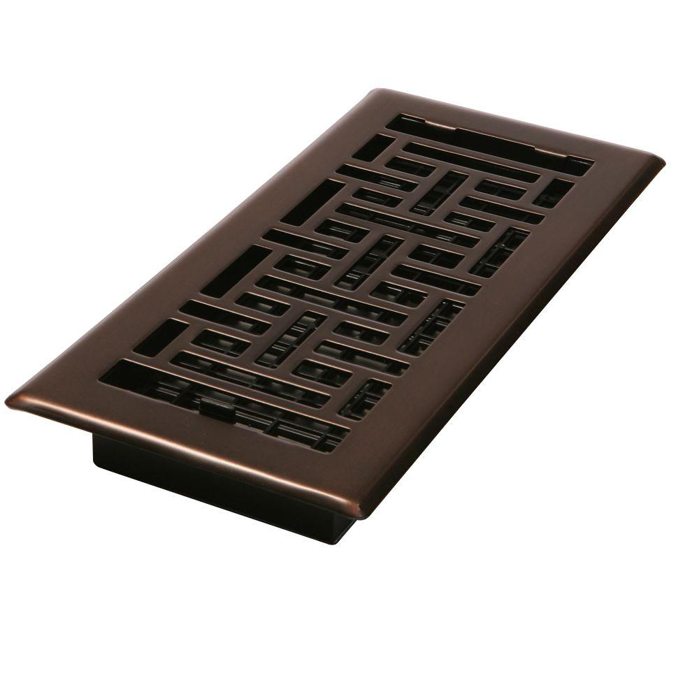 Best Decor Grates 2 1 4 In X 12 In Steel Floor Register Ajh212 Rb The Home Depot This Month