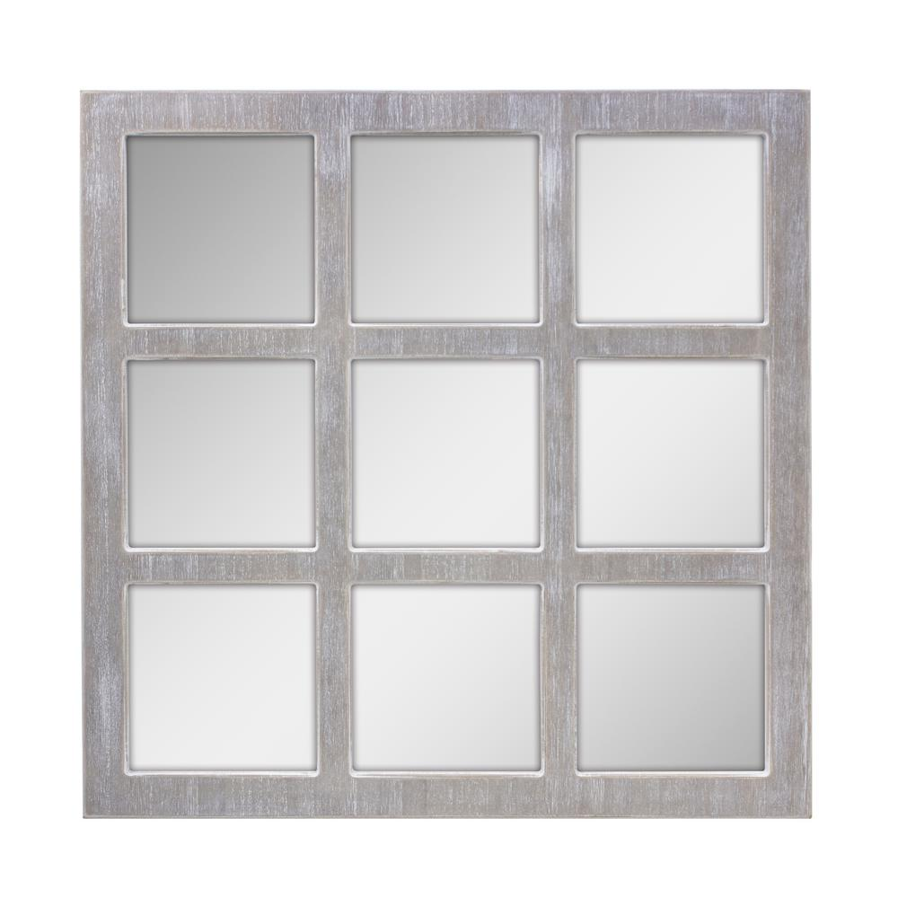 Best Stonebriar Collection Worn White 9 Panel Window Pane This Month