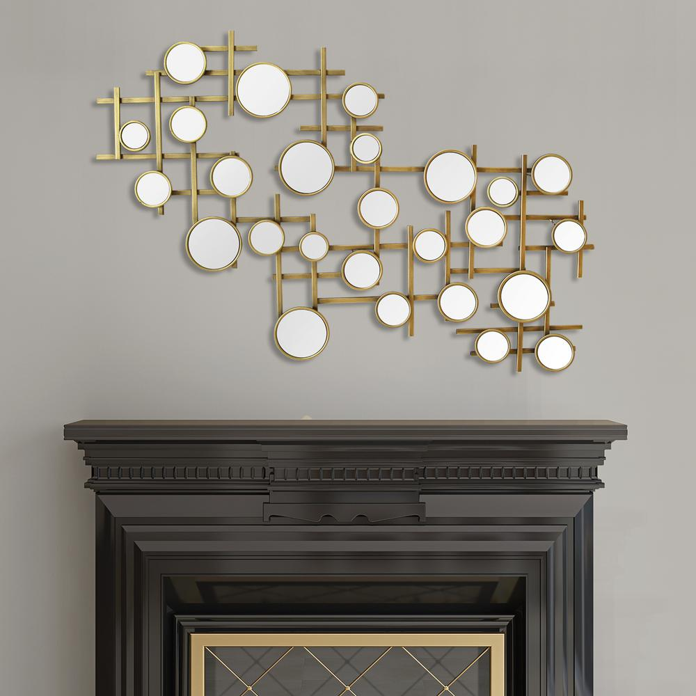 Best Stratton Home Decor Elegant Mirror Cluster Metal Wall This Month