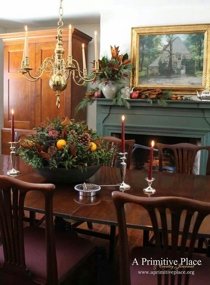Best Farmhouse – Interior – Vintage Early American Decor Is This Month