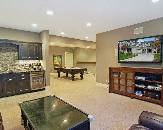 Best 11 Best Finished Basements Images On Pinterest Finished This Month