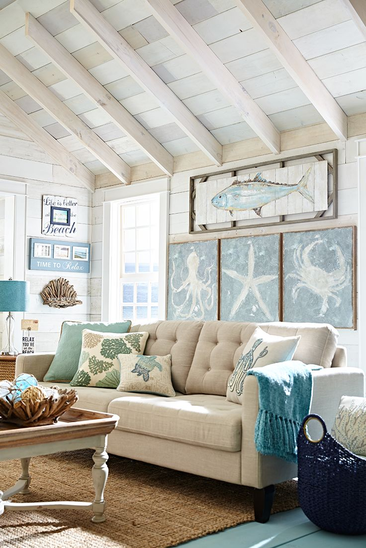 Best 25 Beach Living Room Ideas On Pinterest Coastal This Month