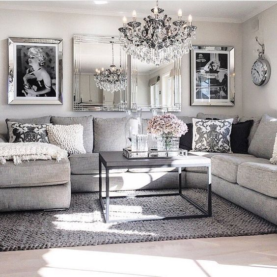 Best Living Room Decor Ideas Glamorous Chic In Grey And Pink This Month
