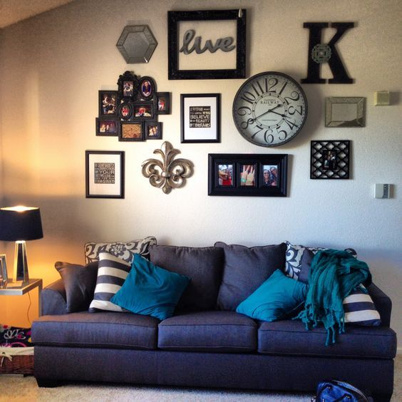 Best Above Couch Decorating Ideas Wall Collage Interior This Month