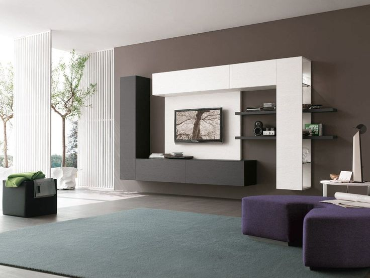 Best 19 Impressive Contemporary Tv Wall Unit Designs For Your This Month