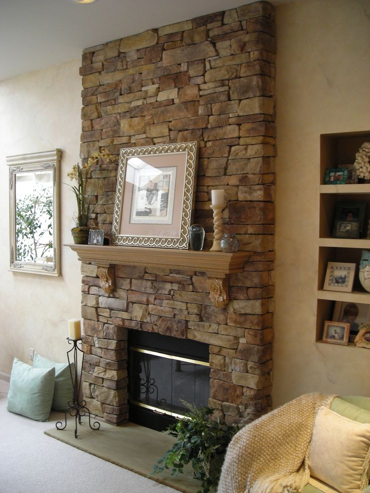 Best 25 Stone Veneer Fireplace Ideas On Pinterest Stone This Month