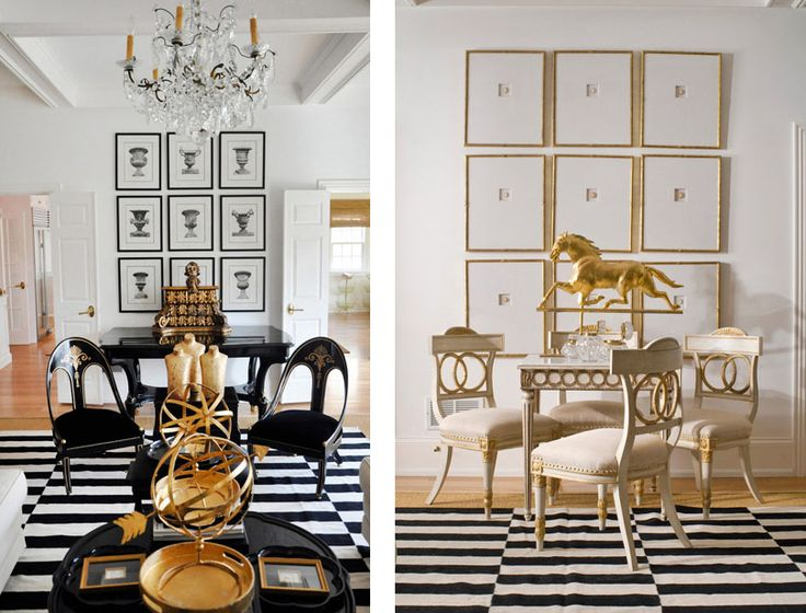 Best Featured Home Black White And Gold Themed Décor Better This Month