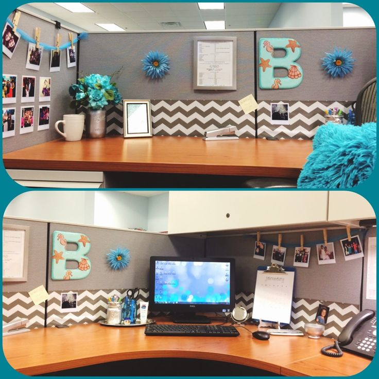 Best Diy Desk Glam Give Your Cubicle Office Or Work Space A This Month