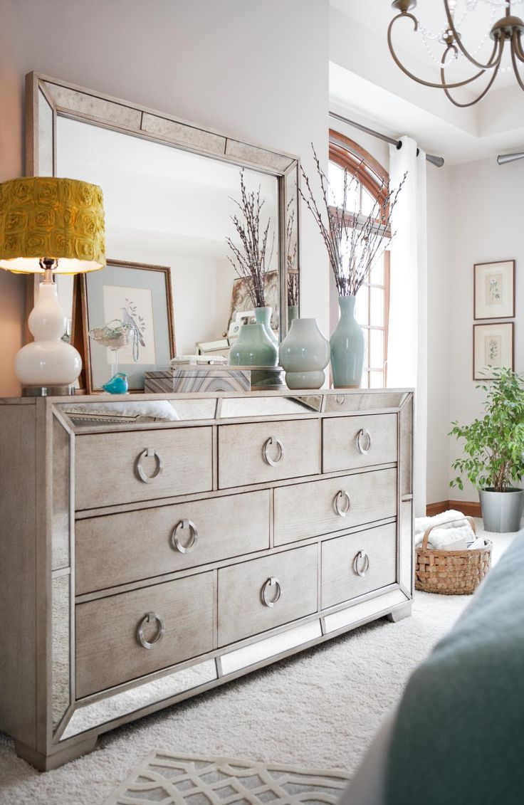 Best Angelina Dresser And Mirror Metallic In 2019 For The This Month