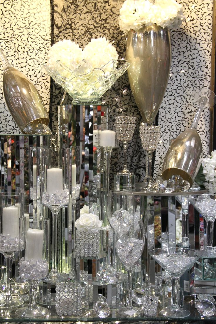 Best 160 Best Sparkling Bling Decor Images On Pinterest This Month