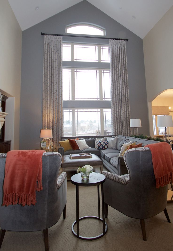 Best 246 Best 2 Story Window Treatments Images On Pinterest This Month