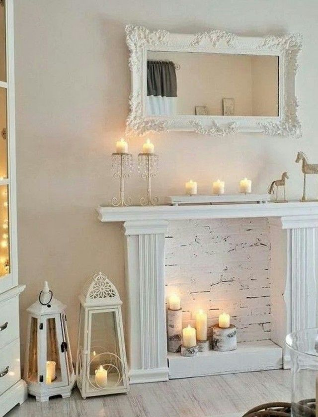 Best 25 Faux Fireplace Mantels Ideas On Pinterest Fake This Month