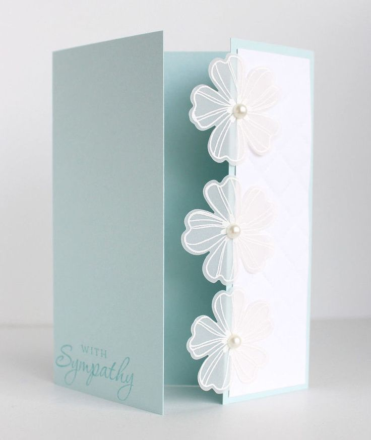 Best 25 Handmade Sympathy Cards Ideas On Pinterest This Month
