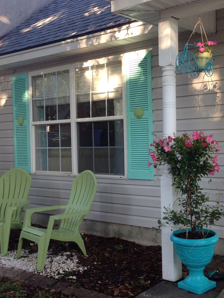 Best Our Tybee Island Home After Updated Front Exterior This Month