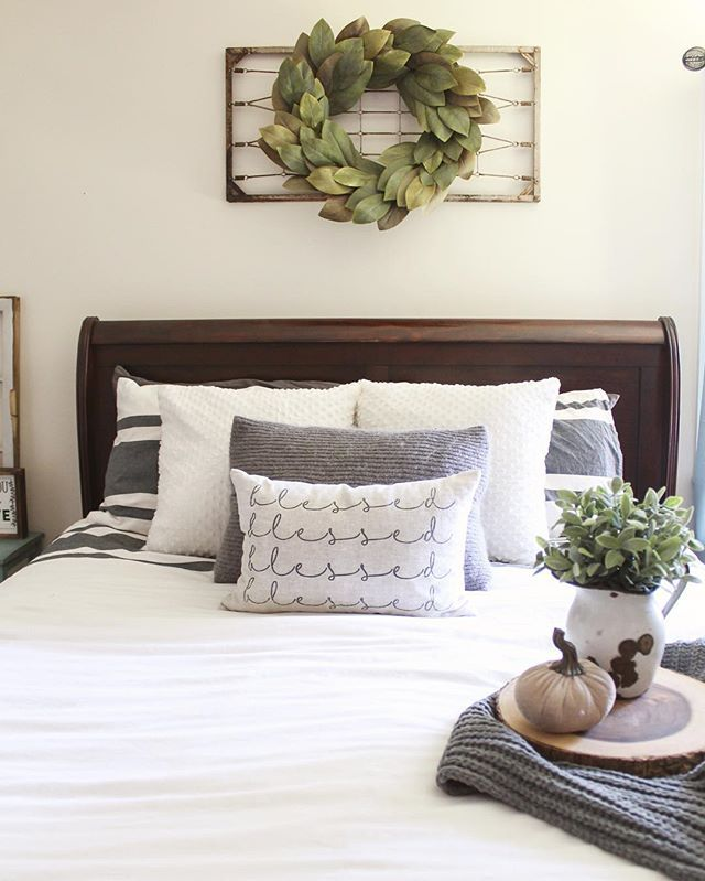 Best 25 Above Bed Decor Ideas On Pinterest Grey Room This Month