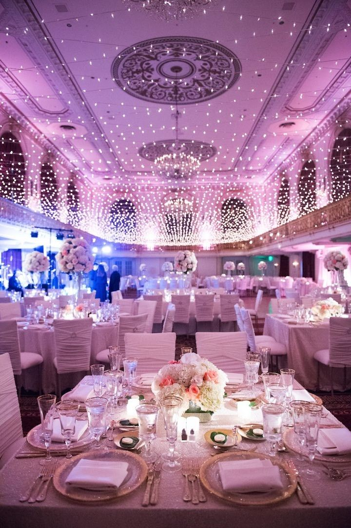 Best Pittsburgh Wedding Twinkles Under A Canopy Of Lights This Month