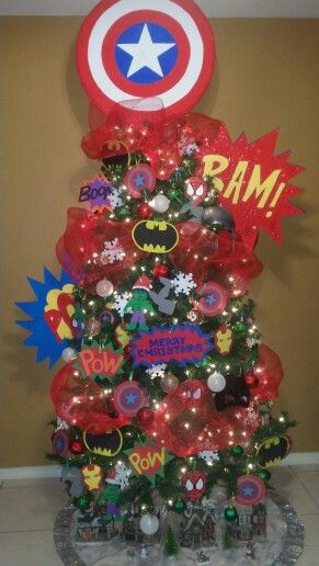 Best Avengers Christmas Tree Holidays Christmas Trees For This Month