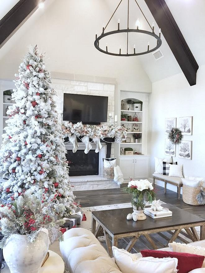 Best 25 Christmas Living Rooms Ideas On Pinterest This Month