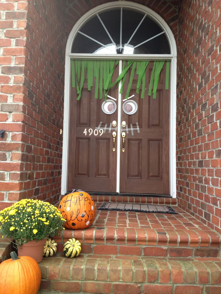 Best The 25 Best Halloween Front Door Decorations Ideas On This Month