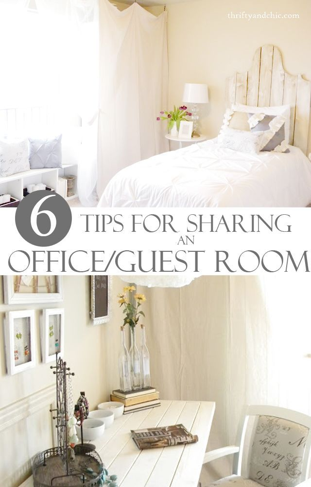 Best 6 Tips For Sharing An Office And Guest Room Home This Month