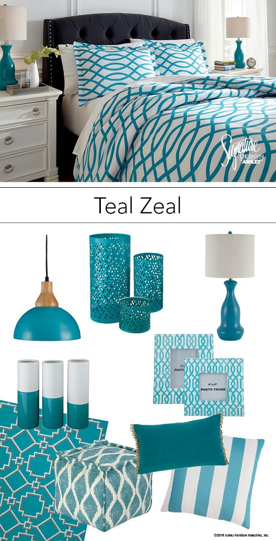 Best Teal Zeal Teal Turquoise Bedroom Bedding And Accessories This Month