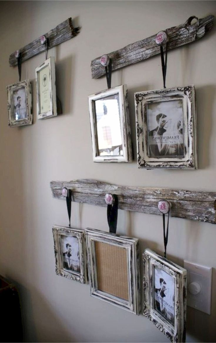 Best 25 Rustic Gallery Wall Ideas On Pinterest Rustic This Month