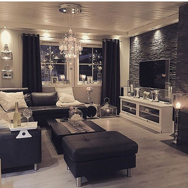 Best 25 Black Living Room Furniture Ideas On Pinterest This Month