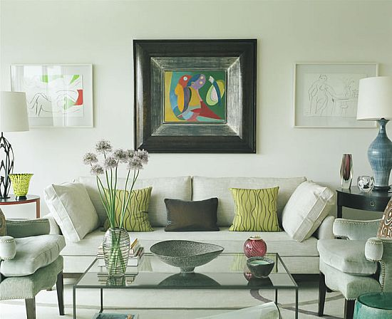 Best An Example Of A Sophisticated Eclectic Living Room A This Month