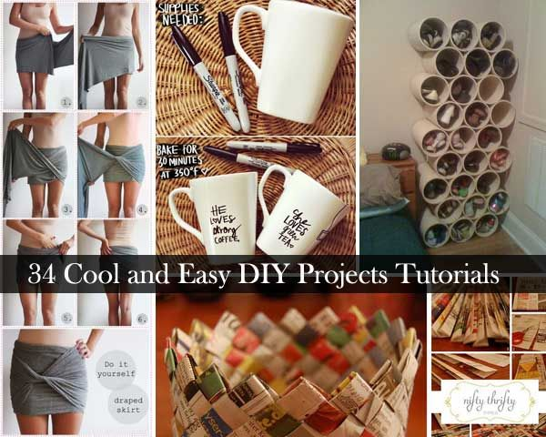 Best 34 Insanely Cool And Easy Diy Project Tutorials Kitchen This Month