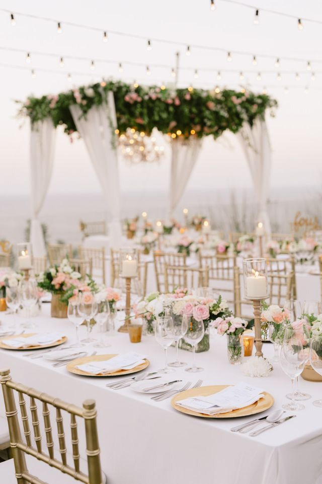 Best Gorgeous White And Gold Wedding Reception Glamorous This Month