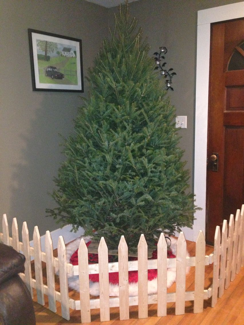 Best Handmade Fence Dog Proofing Christmas Tree Saving The This Month