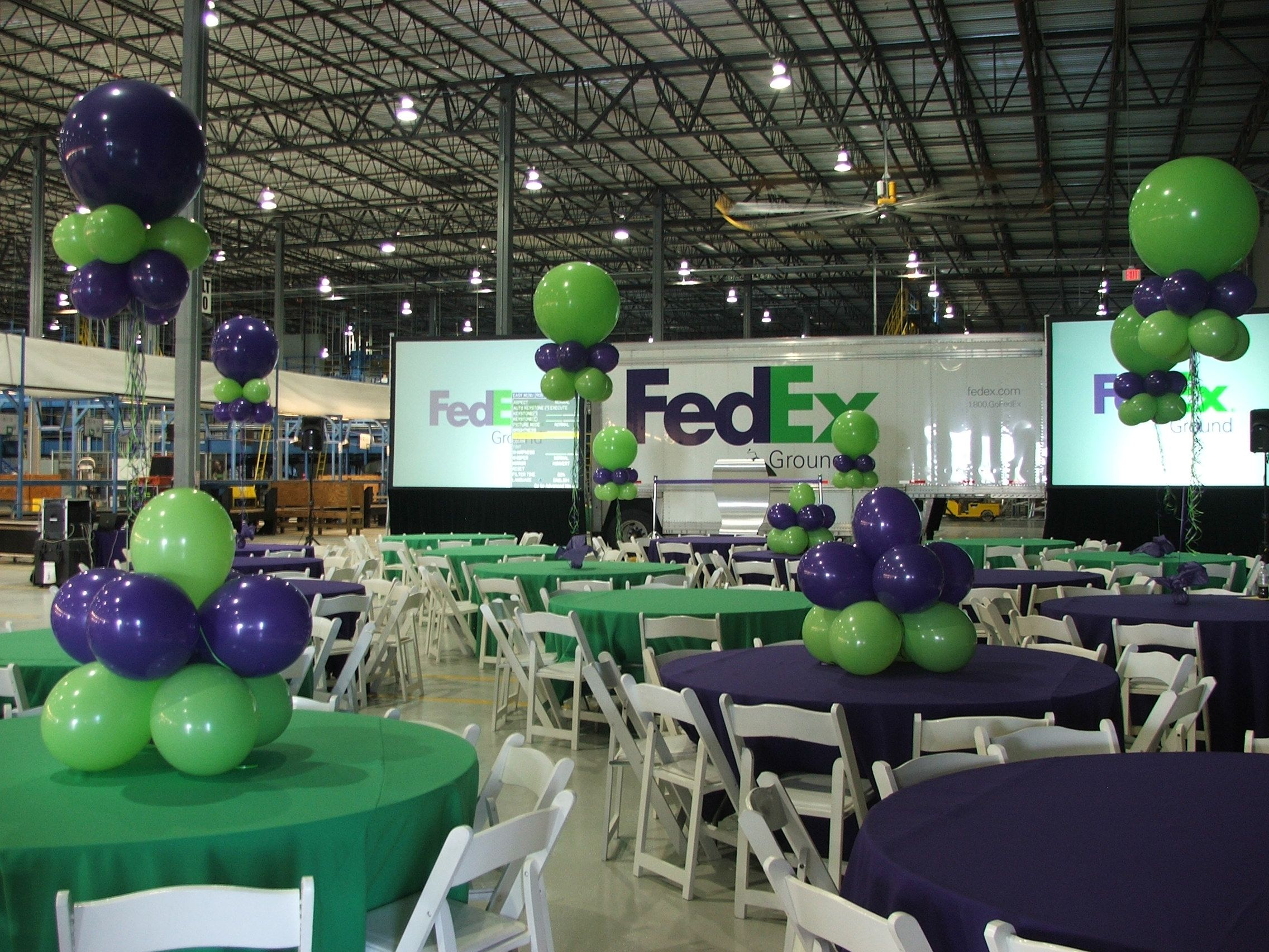 Best Fedex Corporate Event South Florida Balloon Decoration Www This Month