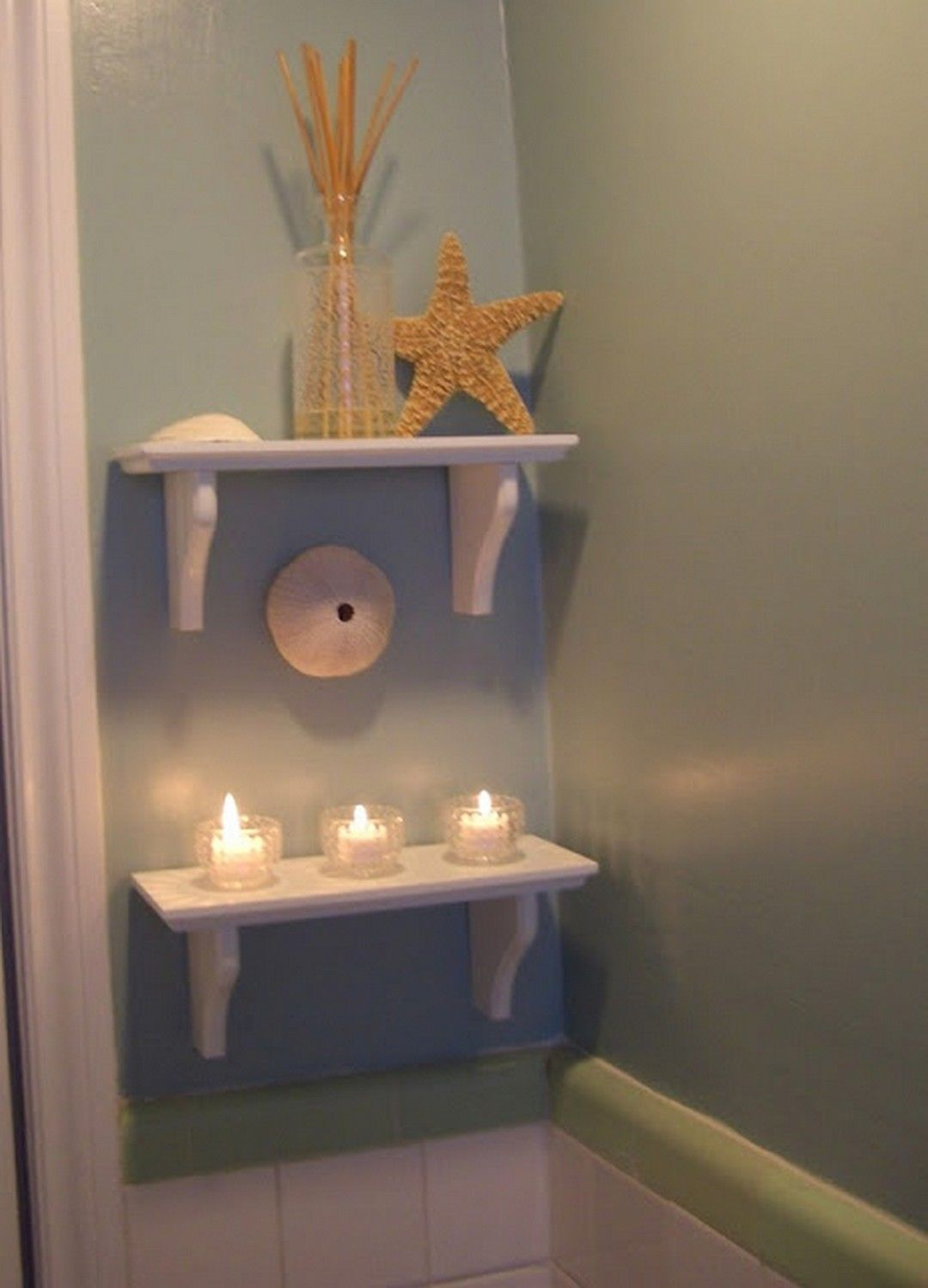 Best 110 Adorable Shabby Chic Bathroom Decorating Ideas This Month