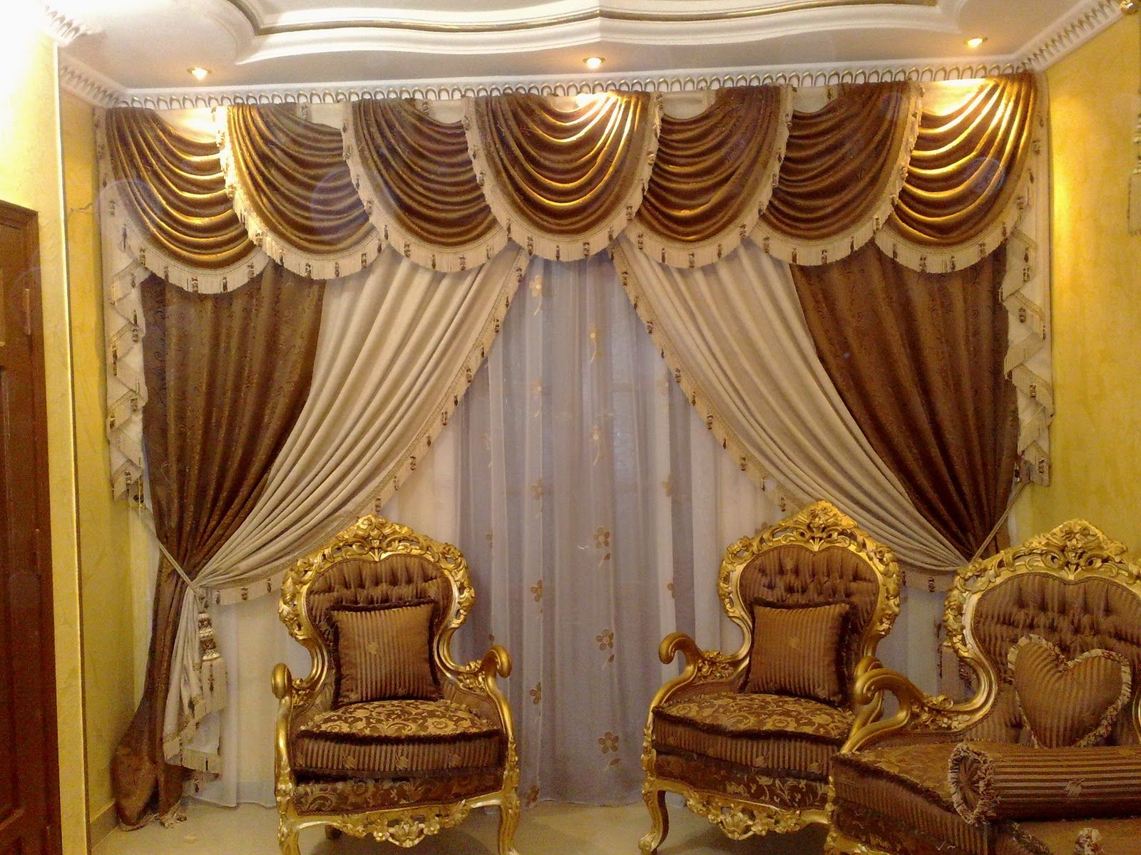 Best Luxurious Living Room Curtains Luxury Curtain Designs This Month