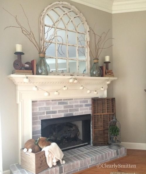 Best Mirror Decorating Ideas From Your Instagram Fireplace This Month